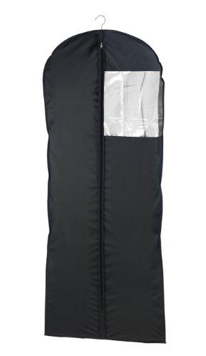 Wenko 43821040100 Kleidersack Deep Black, Kunststoff - Peva, Schwarz