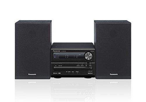 Panasonic Micro HiFi SC-PM250EG-K (20 Watt RMS, CD,UKW, Bluetooth) schwarz