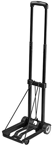 Meister Sackkarre Mini  Klappbar  Bis 45 kg Tragkraft  Höhenverstellbar   Stapelkarre für Getränkekisten   Transportkarre mit höhenverstellbarem Griff   Transporthilfe mit Metallrahmen   8985730