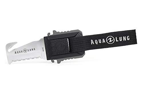 Aqualung - Micro Squeeze Blunt Edelstahl Tauchermesser