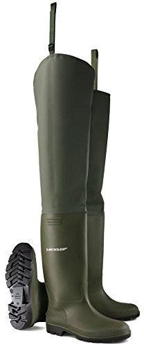 Dunlop 386V08430 386VP Wasserstiefel, 43, Grün