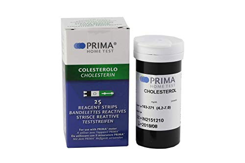 Cholesterin Test Streifen für PRIMA 2in1/3in1 - 25 Streifen