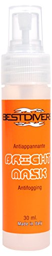 Best divers AI1050/1 Antibeschlag-Spray für Tauchermasken, 30 ml, für Mehrfarbig