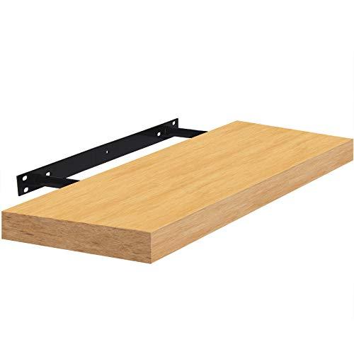 Wandboard Schweberegal Hängeregal Bücherregal Küchenregal freischwebend 80cm Buche - weitere Auswahlmöglichkeiten