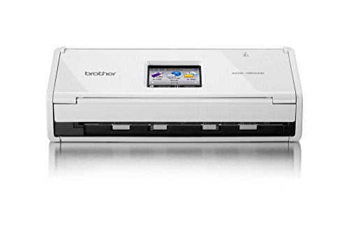 Brother ADS-1600W Duplex-Dokumentenscanner (1200 x 1200 dpi, USB 2.0, WLAN) weiß
