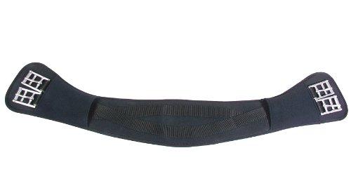 Anatomischer PFIFFsoft Sattelgurt, schwarz 50cm