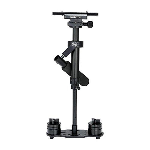 Koolertron H-40 40cm / 15.75in Mini Hand Kamera Stabilisator Schwebestativ Stabilizer mit Schnellwechselplatte 1/4 'Schraube für DSLR-Kamera Canon Nikon Sony bis zu 3.5kg