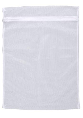 WENKO 3751700100 Wäschenetz 3 kg - 3 kg, kochfest, Kunststoff - Polyester, Weiß