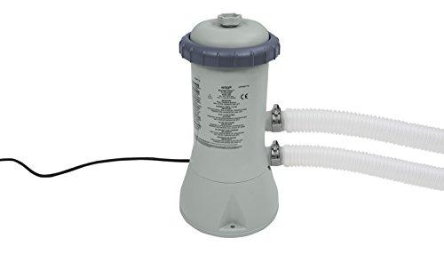 Intex 900 GPH Cartridge Filter Pump (12 V), grau, 18.8x19.4x35.4 cm, 28638GS
