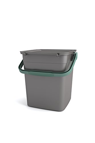 Kis Smart Container Bio Kompost 25,5x 23x 25h, grau, 29.3x 24,15Paketgröße X 49.1