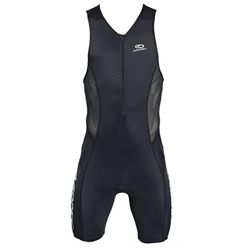 Aropec evolution black Triathlon Einteiler Herren - Trisuit Men, Größe:M