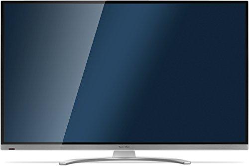TechniSat TECHNIPLUS ISIO 47 119 cm (47 Zoll) / Fernseher mit dreifachem Twin-Tuner, Smart TV, 3D [Energieklasse A+], weiß-silber