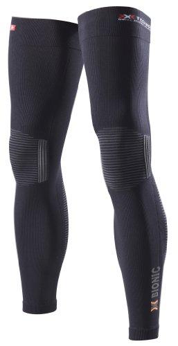 X-Bionic Erwachsene Funktionsbekleidung Biking OW Leg Warmer DX SX No Seam Beinlinge, black/anthracite, XXL