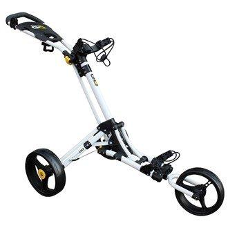 Masters iCart GO 3 Rad Golftrolley (Weiss/Gelb)