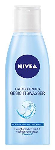 Nivea Erfrischendes Gesichtswasser für normale Haut und Mischhaut, 1er Pack (1 x 200 ml)