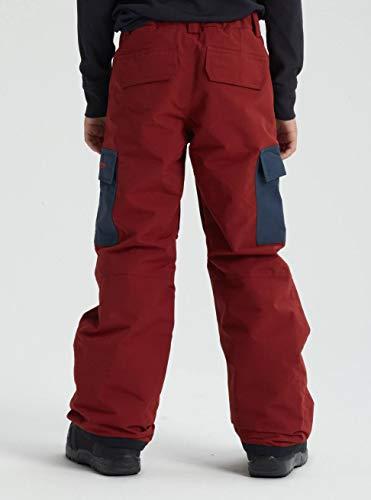 Burton Jungen Exile Cargo Snowboard Hose, Sparrow/Mood Indigo, L