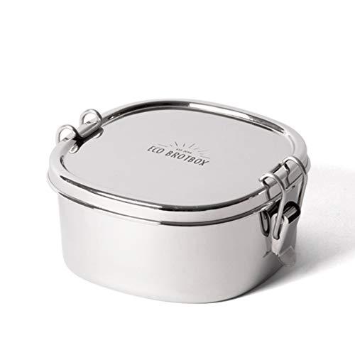 ECO Brotbox | Shanti Box + | auslaufsichere Edelstahl Lunchbox | 700 ml
