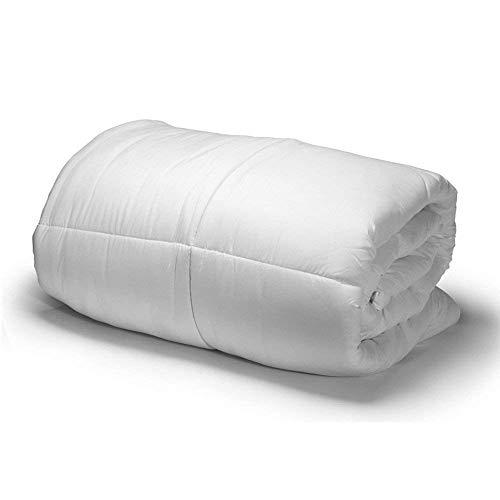 Amazinggirl Hypoallergen Ganzjahresdecke 135X200cm Weiß Bettdecke aus Microfaser für allergiker (Weiß, 135 x 200 cm)