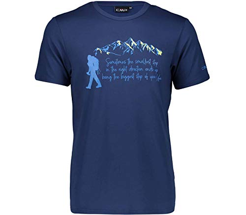 CMP Herren T-shirt, Grün (Jungle U940), 52