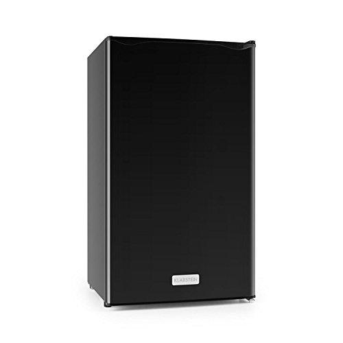 Klarstein Springfield • Kühlschrank • Getränkekühlschrank • 112 Liter • 60 Watt Leistungsaufnahme • 3 Ebenen • wechselbarer Türanschlag • schwarz