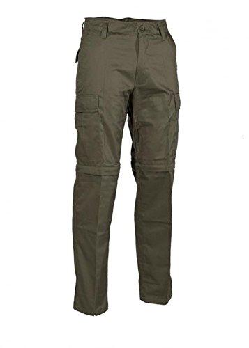 US Outdoor Jungle Hose Zipp Off Anglerhose Jägerhose mit Reißverschluss Arbeitshose verschiedene Farben XS-XXL