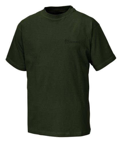 Pinewood Unisex T-Shirt 2-Pack, grün, L