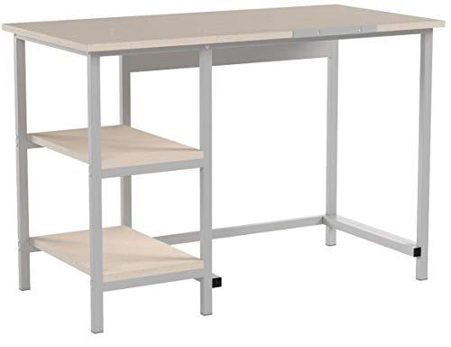 EBS My Furniture Computer Tisch Schreibtisch Bürotisch Computer Werkstation für Arbeitszimmer