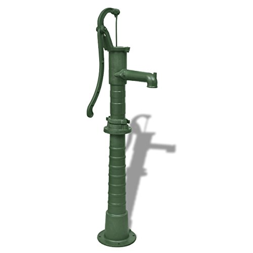 vidaXL Schwengelpumpe Wasserpumpe Handpumpe Garten Handschwengelpumpe + Ständer