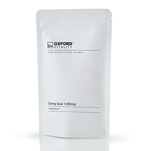 Oxford Vitality - Dong Quai 1000mg Tabletten