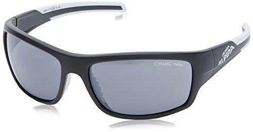 Alpina Sonnenbrille Amition TESTIDO, black matt-white, A8514331