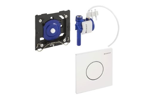 Geberit Urinal-Handauslösung HyTouch pneumatisch, Design Sigma01 weiß, 116.011.11.5