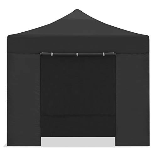 Mc Haus CARPLE-3X3 Faltpavillon, 3 x 3 m, faltbar, wasserdicht, Schwarz