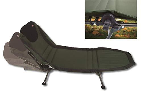 Paladin 6-Bein Luxus Karpfenliege - grün/schwarz