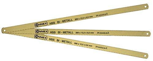 Connex Metallsägeblatt 300 mm HSS-Bi, 3 Stück, COXT930005