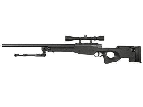 WELL MB01C / L96 Airsoft Sniper Rifle inkl. Bipod & Zielfernrohr 'Downgrade Edition' 0,5 J.