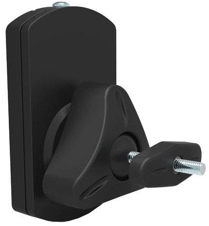 Lautsprecher Wandhalter Paar (2 Stück) schwarz 10kg universell LS38 HALTERUNGSPROFI