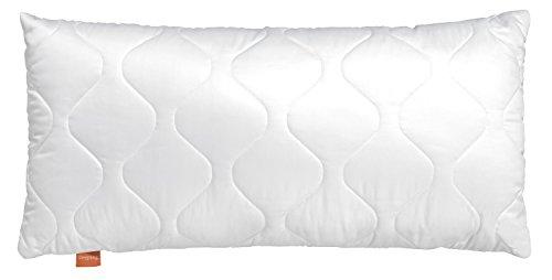 sleepling 19000000021 Komfort 100 Kopfkissen Mikrofaser 40 x 60 cm, weiß