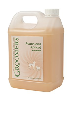 Groomers hundefriseuren Pfirsich und Aprikose Hund Shampoo, 2,5Liter