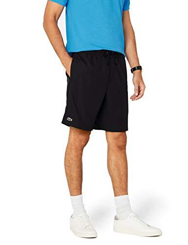 Lacoste Herren Sport Shorts, Schwarz (Noir), XXL (Herstellergröße: 7)