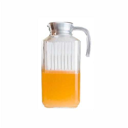 Arcoroc Quadro Kühlschrankkrug mit Deckel 1,7l, 1 Stück