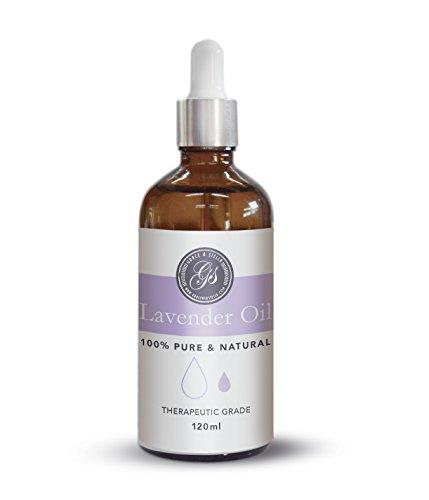 BESTE Lavendelöl BIO 100% naturreines ätherisches BIO Lavendel Öl fein aus FrankreichGlasflasche Massage Öl Beruhigende mit herrlichem Duft Naturkosmetik Massageöle für Stressabbau guten Schlaf Entspannung Beauty Wellness Schönheit Pflegeöl Hautöl