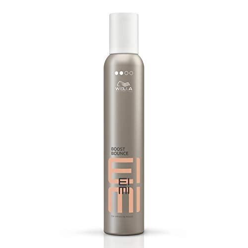 Wella Eimi Boost Bounce - Professionelles Lockenmousse - Anti-Frizz-Effekt - Natürlicher Halt,1er Pack (1 x 300 ml)