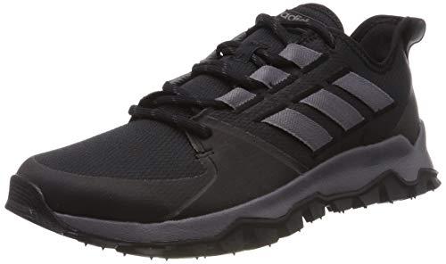 adidas Herren Kanadia Trail F36056 Laufschuhe, Schwarz (Black), 43 1/3 EU