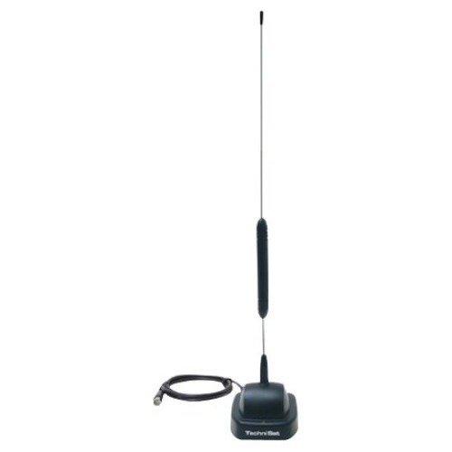 TechniSat DIGIFLEX TT4-NT (Aktive Stab-Zimmerantenne mit eingebautem Verstärker, DVB-T/DVB-T2/DAB+ inkl. Netzteil)
