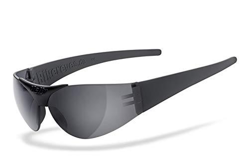 Helly - No.1 Bikereyes | H-FLEX- unzerbrechlich, beschlagfrei, HLT Kunststoff-Sicherheitsglas nach DIN EN 166 | Bikerbrille, Motorradbrille, Sportbrille | Brille: moab 4