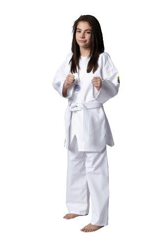 KWON Kinder Kampfsportanzug Taekwondo Song, weiß, 120 cm, 551003120