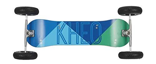 KHEO Unisex– Erwachsene Core v2 (8 inch Wheels), Blau, Grün One Size