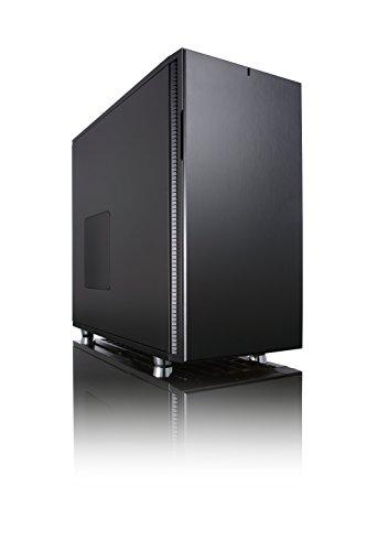 Fractal Design Define R5 Black Pearl, PC Gehäuse (Midi Tower) Case Modding für (High End) Gaming PC, schwarz