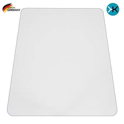 KAISER plastic PP Bodenschutzmatte | 75 x 120 cm | Hartboden | Made-in-Germany
