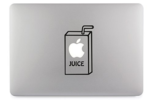 Apple Juice Apfelsaft Apple MacBook Air Pro Aufkleber Skin Decal Sticker Vinyl (13')